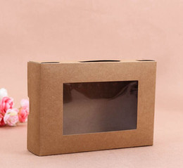 cake lipstick Canada - Customized luxury food grade materials paper cake box with window,pvc window gift packing box ---PX0088