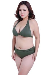 cup sized swimsuits NZ - The new full-size swimsuit for women is a fat 130kg swimsuit with a large chest, EFGH cup and a sexy slim bikini