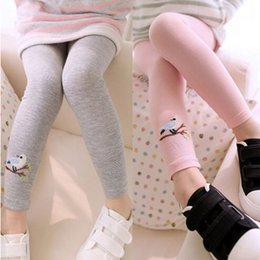 bird leggings Australia - New Toddler Baby Girls Kids Skinny Pants Warm Leggings Girl Bird Pattern Stretchy Pants Trousers