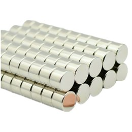$enCountryForm.capitalKeyWord Australia - 48pcs lot Bead Magnet Disc Diameter 15x10 Mm Ndfeb N52 Strong Neodymium Rare Earth Magnets Permanent Nicuni Plating