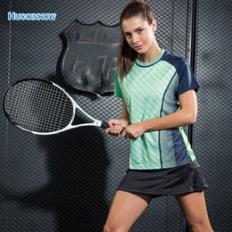Men S Skirts Canada - Women And Men Black Sports Skirts And Shorts Professional Two Pieces Set Tennis Badminton Skorts +T-shirt HRunning Fitness S