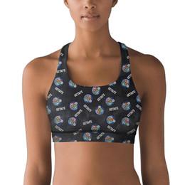 $enCountryForm.capitalKeyWord Australia - Getafe Club de Fútbol S.A.D. Azulones El Geta Tie dyeing 100% Polyester Fiber Vest Breathable Yoga Top Sweat-Absorbent Yoga Bra Designe