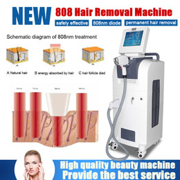 Discount lasers for acne treatment - Professional Pain Free 808nm Diode Laser permanently remove armpit hair beard bikini hair or any other unwanted hair for