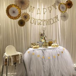 $enCountryForm.capitalKeyWord Australia - Tulle Tutu Table Skirt muslin fluffy Birthday party Shower Wedding cake Table Home Textiles Wedding Party Decorations DIY Craft