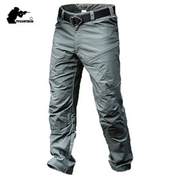 Combat uniform online shopping - Brand New Men s Tactical Pants Male Army Combat Uniforms Morality Waterproof Cargo Pant Men High Qualtiy Overalls BY311