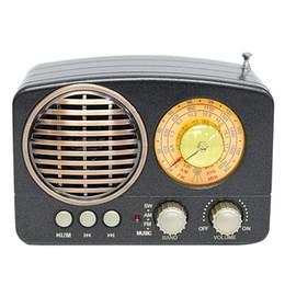$enCountryForm.capitalKeyWord Australia - M-161BT Mini Bluetooth Speaker Gift Audio USB Rechargeable Multifunction Durable TF Card Slot Home Retro AM FM SW Radio Portable