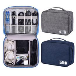 $enCountryForm.capitalKeyWord Australia - Travel Storage Bag Kit Data Cable U Disk Power Bank Electronic Accessories Digital Gadget Devices Divider Organizer Container