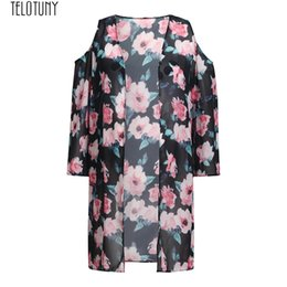 $enCountryForm.capitalKeyWord Australia - TELOTUNY Maternity Outfits Shirt Women's Ladies Floral Off Shoulder Sunscreen Cardigan Beach Clothes Women Tops Fashion New JAN2