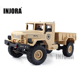 Remote toy tRucks online shopping - Children Toy Scale Rc Rock Crawler Off Road wd Military Truck Rtr Remote Control Car Toy For Children