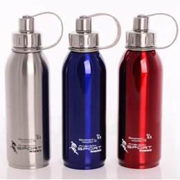 $enCountryForm.capitalKeyWord NZ - 800ml 1000ml Stainless Steel Double Wall Portable Outdoor Vacuum Insulation Thermal Water Bottle With Tea Infuser Sports Flasks Y19070303