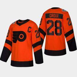e973bde0e Philadelphia Flyers Jersey Ice Hockey UK - 28 Claude Giroux Philadelphia  Flyers 2019 Stadium Series Jersey