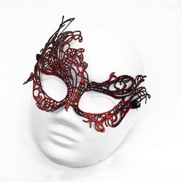 $enCountryForm.capitalKeyWord Australia - 20pcs Sexy Lovely Lace Halloween masquerade masks Party Masks Venetian Party Half Face Mask For Christmas lace wedding party masks