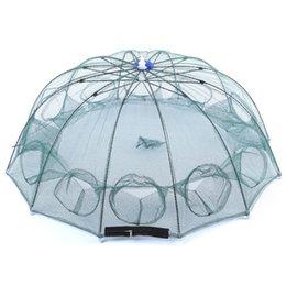 12 Gear Australia - Automatic 12 Side Prey Shrimp Fishing Net Gear Outdoor Tool