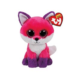 "large stuffed animal toys wholesale NZ - Ty Beanie Boos 10"" 25cm fox Large Plush Big-eyed Stuffed Animal Collectible Doll Toys for children"