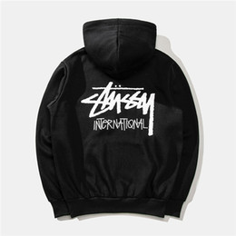 $enCountryForm.capitalKeyWord Australia - 2019 autumn and winter new 18SS clothing fashion men and women classic cruise printing plus velvet hooded sweater hoodie MMM