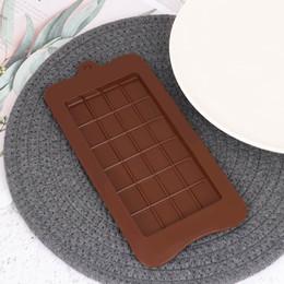 $enCountryForm.capitalKeyWord Australia - 1pc Eco-friendly Silicone Chocolate Candy Mould Cake Bake Mold Baking Pastry Tool Bar Block Ice Tray Mould