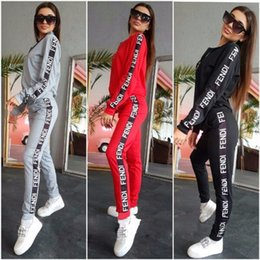 $enCountryForm.capitalKeyWord NZ - 2019 European and American cross-border high-end women's fashion explosions hot sale casual sports set 619