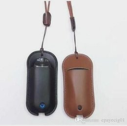 Color Leather Bags Australia - vaporesso zero vape leather case with lanyard black brown color new e cigarette pouch carrying bag
