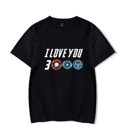 $enCountryForm.capitalKeyWord Australia - T shirt Men Iron Man The Tony Stark Tee Dad I love you 3000 Times Men Women Clothes 2019 Fathers day gifts