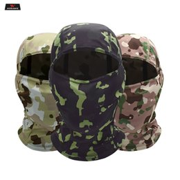 $enCountryForm.capitalKeyWord NZ - WOSAWE Camouflage Balaclava Full Face Mask Motorcycle Cycling Hunting Army Bike Helmet Liner Tactical Skull Cap