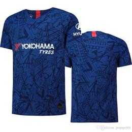 Soccer StadiumS online shopping - 2019 top HAZARD Home Stadium Shirt soccer Jersey KANTE HIGUAIN GIROUD WILLIAN JORGINHO PULISIC football Shirt Camiseta