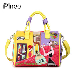 $enCountryForm.capitalKeyWord NZ - Ipinee Candy Color Handbags High Quality Fashion Italian Leather Bags Famous Brands Stylish Female Tote Bag J190702