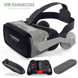 $enCountryForm.capitalKeyWord NZ - 2019 Google Cardboard Vr Shinecon 9.0 Pro Version Vr Virtual Reality 3d Glasses +smart Bluetooth Wireless Remote Control Gamepad T190628