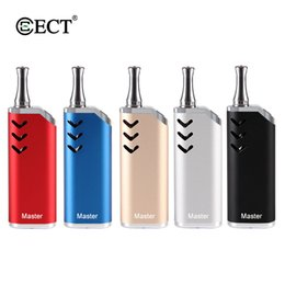 vape mod box tank Australia - ECT Master Kit 650mAh Battery Preheat VV Vape Box Mod for Empty 510 Thread B1 Carts Vape Cartridges Tank 100% Original Vape Box Mod