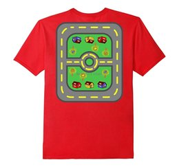 $enCountryForm.capitalKeyWord Australia - new men shirt Car Play Mat Roads Back Massage TShirt For Parents And Kids
