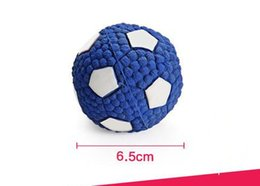$enCountryForm.capitalKeyWord Australia - Creative Pet Interactive Latex Sound Teddy Clean training Tooth Ball Football Safety Meat Crown Simple Reusable Dog Toys