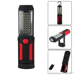 dive flashlight magnetic NZ - USB Charging 36+5LED Magnetic Work Hand Flashlight Emergency Inspection Work Torch Light with Hook Magnet Portable Lantern