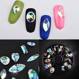 $enCountryForm.capitalKeyWord Australia - Crystal Shiny 3D Nail Art Rhinestones AB Colorful Horse Eye Waterdrop Football Diamond DIY Decor Charms