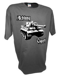 $enCountryForm.capitalKeyWord Australia - Achtung Panzer Tiger Tank Stalingrad World of Tanks German Model Rc Tank T Shirt free shipping cheap tee Cheap wholesale tees
