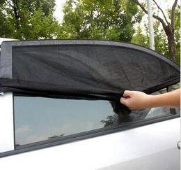 Glasses Sun Protection Australia - Factory Direct 2Pcs Car Side Rear Windshield Window Glass Sun Shade Mesh Cover Solar UV Protection Visor Shield Sunshade Auto Accessories