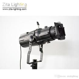 Wholesale 150W LED Profiles light 4Pcs Carton Zita Lighting Professional Studio Theater Spotlight DMX 512 Zoom Stage Lighting