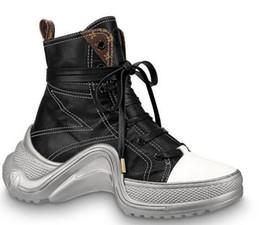 Faux Fur Booties Women Australia - 2019 1A52L3 Archlight Sneaker Boot Women Boot 2019 Riding Rain BOOTS BOOTIES SNEAKERS High heels Lolita PUMPS Dress Shoes