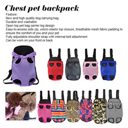 Discount s bag classic - Backpack Pet Dog Carrier Mesh Camouflage Outdoor Travel Products Breathable Shoulder Handle Bags for Small Dog Cats Chih