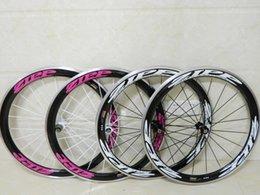 Cheap raCing biCyCles online shopping - Cheap ZIPP Aluminum mm Glossy clincher carbon wheelset Alloy Racing Wheels bicycle clincher bicycle wheels A6