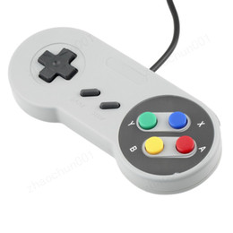 $enCountryForm.capitalKeyWord NZ - Classic USB Controller PC Controllers Gamepad Joypad Joystick Replacement for Super Ninten-do SF for SNES NES Tablet PC LaWindows MAC