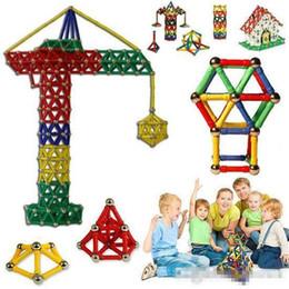 Magnetic Building Toys For Children Australia - 103pcs Magnetic Toys Sticks Building Blocks Set Kids Educational Toys For Children Magnets Christmas Gift b971