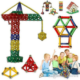 $enCountryForm.capitalKeyWord NZ - 103pcs Magnetic Toys Sticks Building Blocks Set Kids Educational Toys For Children Magnets Christmas Gift b971