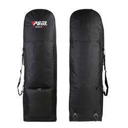 PGM pg saco de viagem de golfe com rodas de nylon sacos de bola de aviação de golfe homens mulheres senhora Grande Capacidade De Armazenamento em Promoção