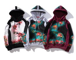 Wholesale Brand hoodie sup JeanPauls luxury ss brand flower suit sweater suit pullover brand hoodie best selling high quality