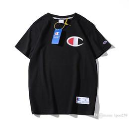 Cotton T Shirts Lace Canada - 2019 New T-shirt Alliance Italian Polo Shirt Letters T-Shirt Men's Casual Cotton Polo Shirt Size M-2XL
