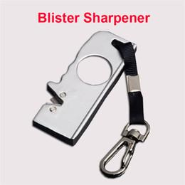 $enCountryForm.capitalKeyWord Australia - Utility Camping Gear Kimter Mini-Field Blister Sharpener Keychain Knife Pocket EDC Cutting Hand Tools Sharpner Beat Gift for Men P462R Q