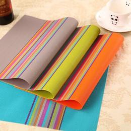 $enCountryForm.capitalKeyWord NZ - Premium Kitchen Placemats Washable Woven Vinyl Table mats Non-slip Decorative Table Trivet Hotel Restaurant Fashion Dishes Placemats