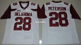 $enCountryForm.capitalKeyWord Canada - Cheap custom Oklahoma Sooners Adrian Peterson #28 White College Football Jerseys Stitched XS-3XL