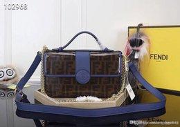 F Brand Bags Australia - Luxurys Fashion designers brand ladies handbags bag double F new LOGO classic generous noble two shoulder straps