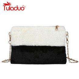 182019313f Discount faux fur purses handbags - Tuladuo Cute Chain Women Bag Faux Fur  Ladies Crossbody Messenger