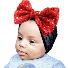 Velvet Baby Hat For Girls Autumn Winter Baby Headwear Boy Cap Sequined Bow Photography  Props Elastic Beanie Hat Accessories 6883a5970525